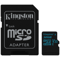 Canvas Go Kingston, micro SD kartica sa adapterom, 32GB