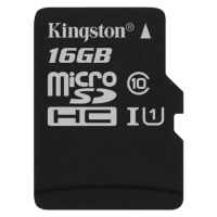 Canvas Select Kingston, micro SD kartica, 16GB, SDCS/16GB