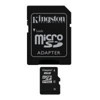 Kingston, micro SD kartica sa adapterom, 8GB